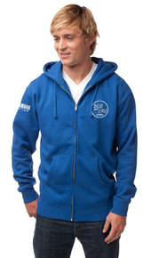 bLU cRU Adult Zipper Hoody