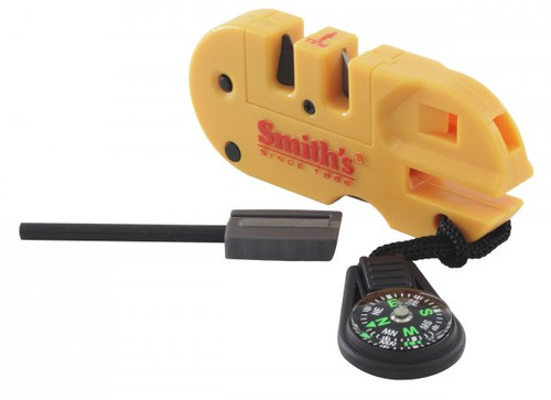 Smith's Fire starter, whistle, sharpener, compass