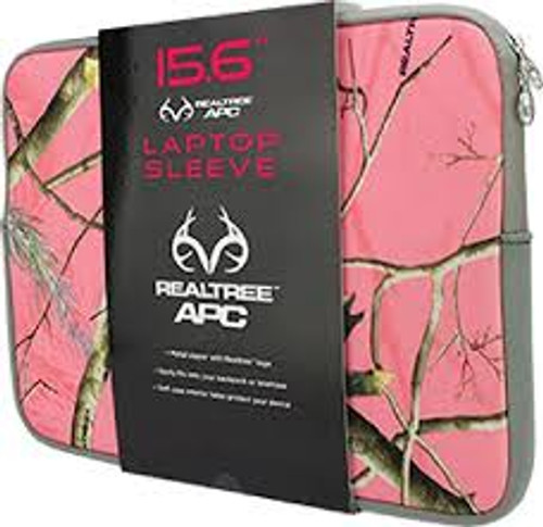 Realtree Pink Camo Laptop Sleeve