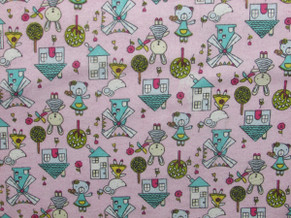 Print Flannel 32