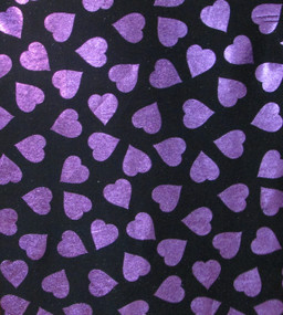 Purple Heart on Black