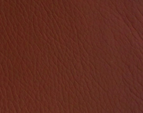 Bonded Leather Brown - Red