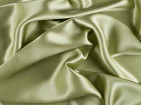 Silk Charmeuse Celery Green