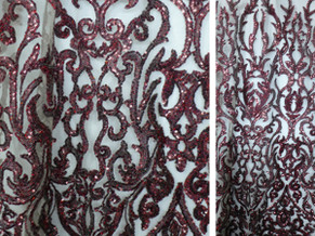 Embroidery Sequins Lace 02
