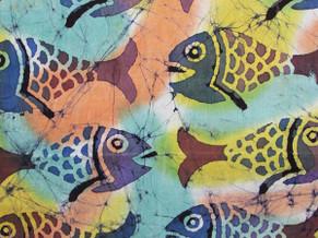 Batik Fabric 002