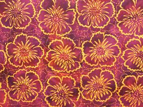 Batik Fabric 004