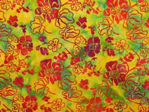 Batik Fabric 008
