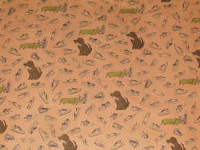 Animal Quilting Cotton  016