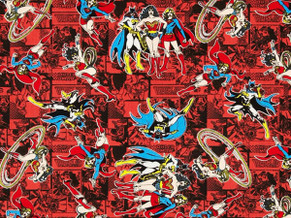 DC Comics Quilting Cotton 1