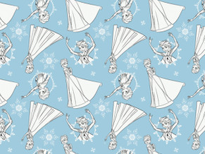 Frozen Quilting Cotton Cotton 2