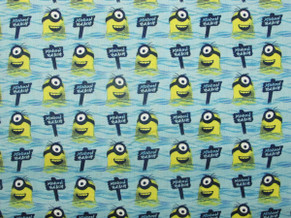 Minions Quilting Cotton 3