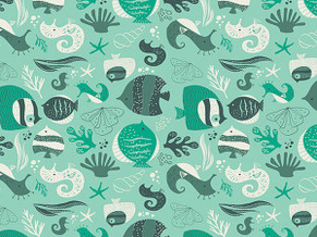 Animal Quilting Cotton  021