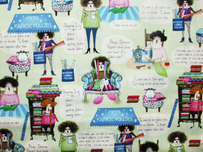 Novelty Quilting Cotton 8