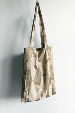 Milly S. Tote Bag (gold ripple)