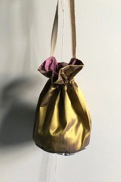 RCP Silk Drawstring Bag (yellow)
