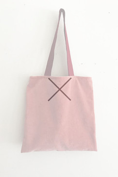 RCP Book Bag (pink velvet)
