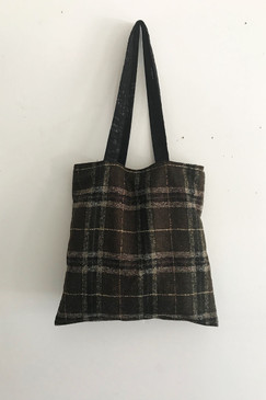 RCP Book Bag (brown check)