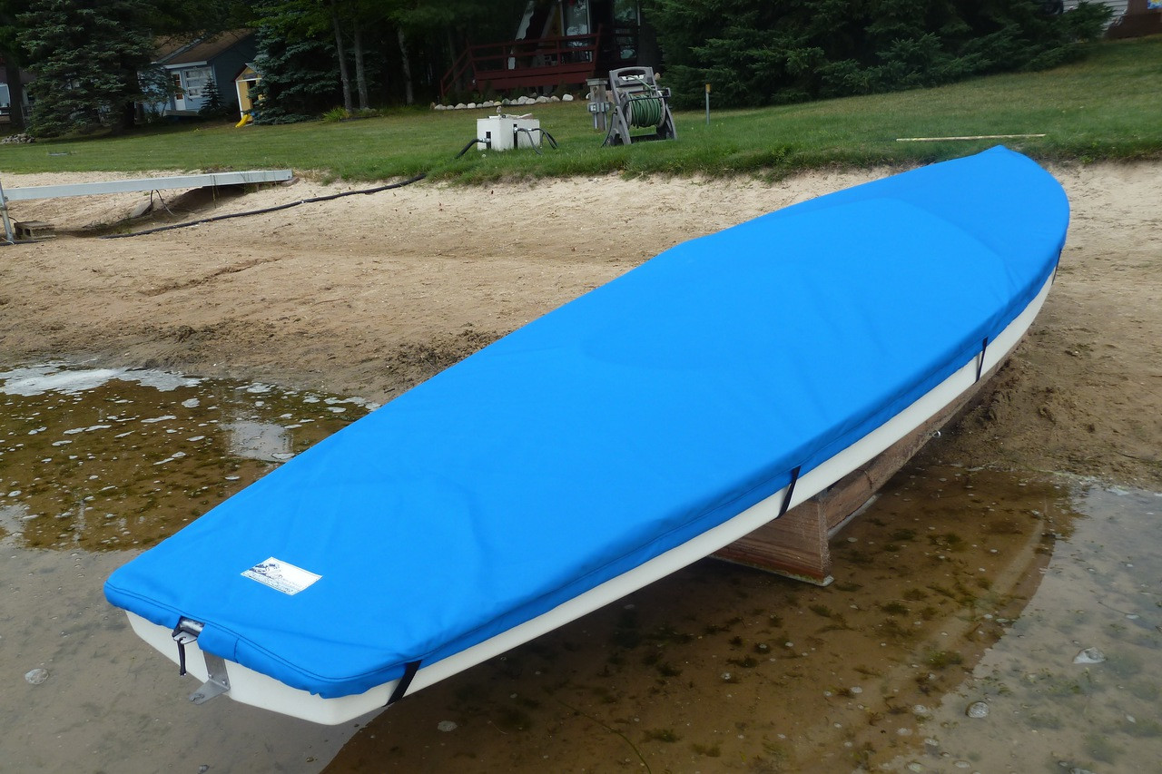 Home Boat Covers Sunfish ® Sunfish Sailboat Top Cover - Boat Deck