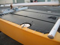 Prindle 16 W/ Ports Catamaran Trampoline - Mesh