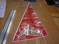 Nacra 5.8 Jib Sail Radial Injection Laminate