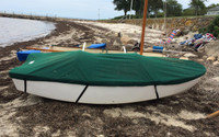 Dyer Dhow 9' Sailboat Top Cover - Boat Deck Cover