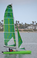 Nacra 5.2 Radial Square Top Injection Laminate Mainsail