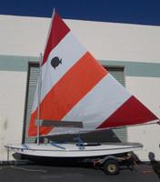 Sunfish Sail Colored