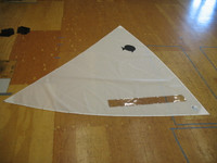 Sunfish Sail White