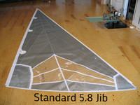 Nacra 5.8 Jib Sail Radial Laminate