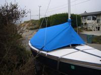 Capri 14.2 Boom Tent Boat Cover