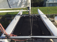 Nacra Inter 20 Catamaran with Side Loops Trampoline -  Mesh