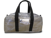 Sailcloth Duffel Bag Gun Metal Gray Medium