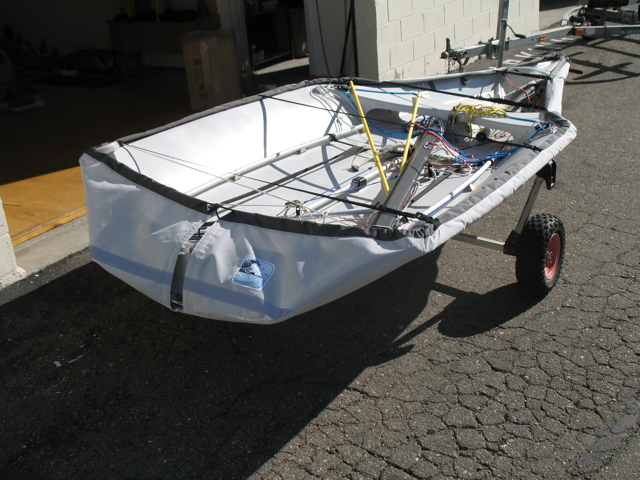 29er sailboat Bottom cover