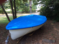 Pintail Sailboat Top Cover - Boat Deck Cover