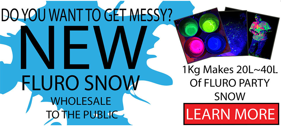 New Neon Snow By Glow Paint Industries