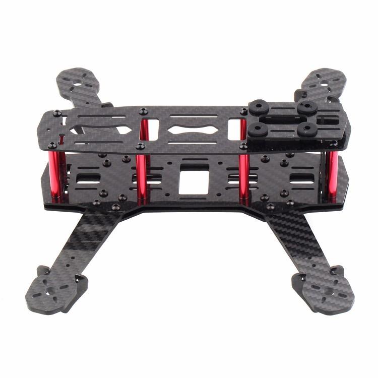 Quadcopter frame made of carbon fibre
