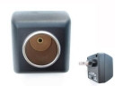 Black Colour 240 volts AC to 12V Car Power Adapter.