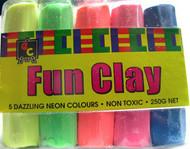 Fluorescent Fun Clay