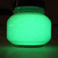 Glow In The Dark Acrylic Indoor Outdoor Paint Premium Green Glow 250ml Or  One Litre