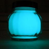 Glow In The Dark Acrylic Indoor Outdoor Paint Aqua Glow