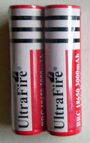 UltraFire BRC 18650 3000mAh 3.7V Rechargeable li-ion Batteries