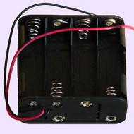4 x 3.7 volt Batteries Holder