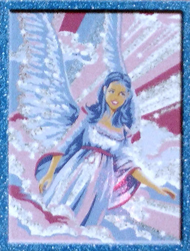 Glitter Paint By Numbers Angel