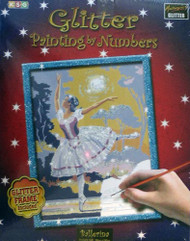 Glitter Paint By Numbers Ballerina