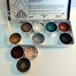 Clay Mineral Eye Shadow Palette-WINTER FOREST