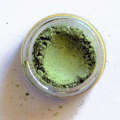Clay Mineral Eye Shadow- MOSS GREEN