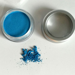 Clay Mineral Eye Shadow- ELECTRIC BLUE
