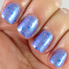 Ice Princess from the Snow Queen Winter '16 Trio  Swatched by Becky from Naked Without Polish.