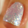 "Macro of Snow Queen from the ""Snow Queen"" Winter Trio  Swatched by Becky from Naked without Polish."