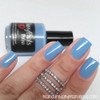 """""""Blue Moon"""" from the Spring '16 Ice Cream Social Collection.  Two easy coats and top coat by Manicured and Marvelous."""
